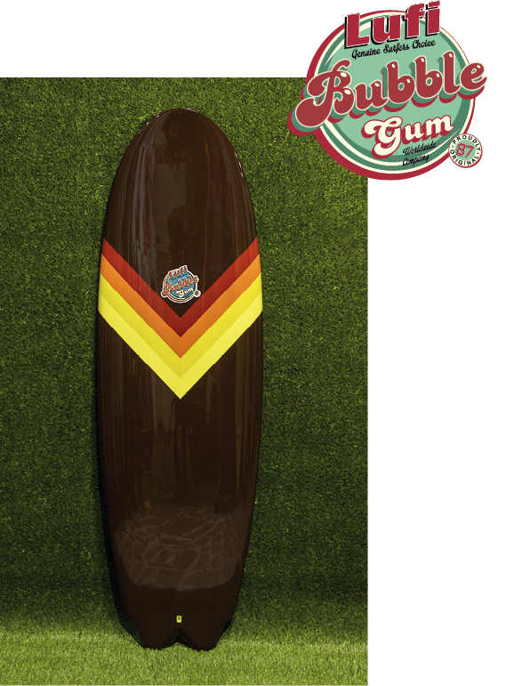 Bubble Gum Shortboard
